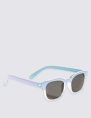 Kids' Club Sunglasses (Older Girls), AQUA MIX, catlanding