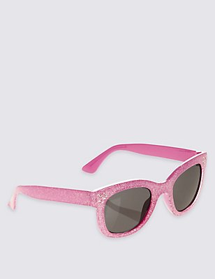 Kids' Bling Sunglasses (Older Girls), PINK, catlanding