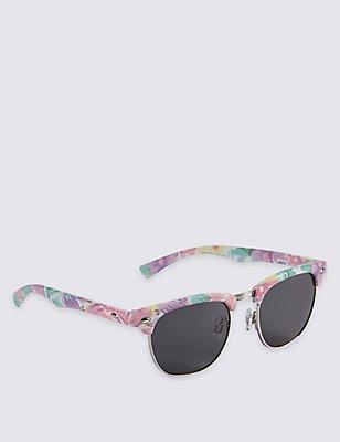 Kids' Floral Sunglasses (Older Girls), MULTI/PASTEL, catlanding