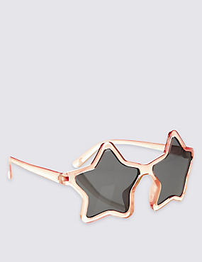 Kids' Star Sunglasses (Younger Girls), PALE PINK, catlanding