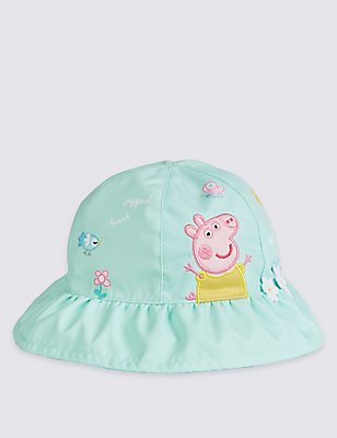 Kids' Peppa Pig™ Summer Hat, MINT, catlanding
