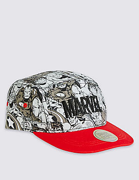 Kids' Marvel Baseball Cap, BLACK MIX, catlanding