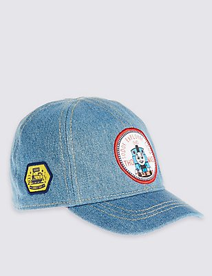 Kids' Pure Cotton Thomas & Friends™ Hat, CHAMBRAY, catlanding