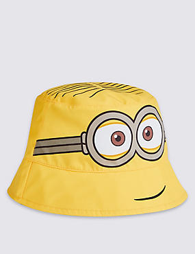 Kids' Minions Pull-on Summer Hat, YELLOW MIX, catlanding