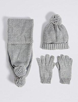 Ensembles bonnets, écharpes et gants enfants , MULTI, catlanding