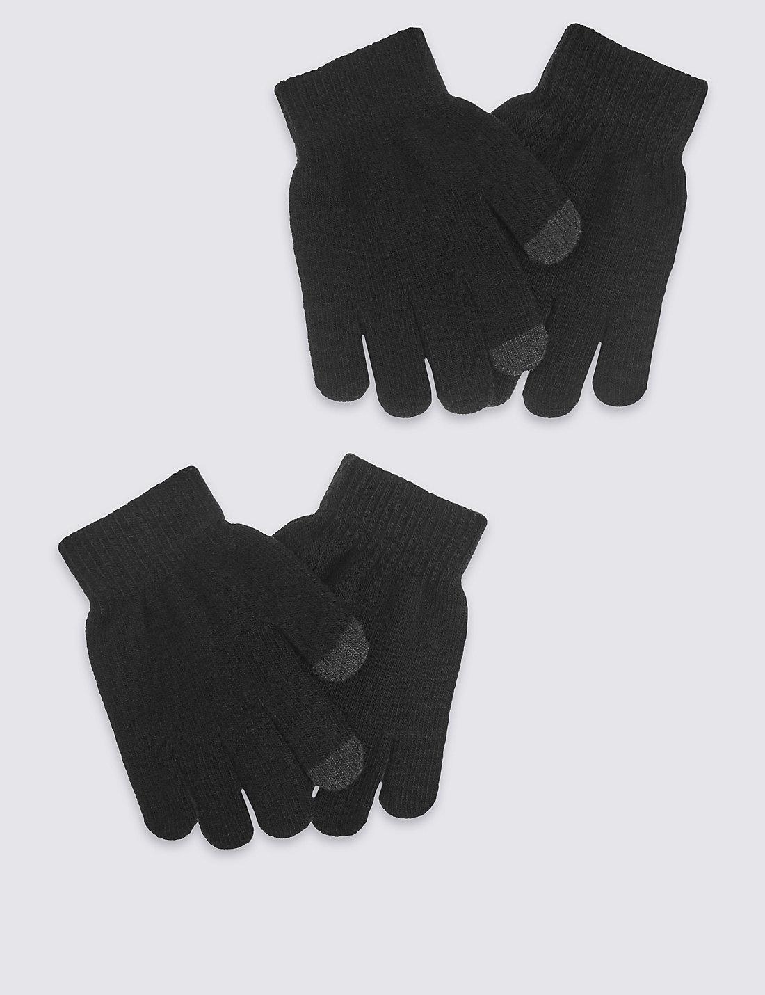 Black gloves white magic - Kids Magic Gloves