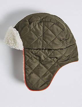 Kids' Borg Trapper Hat, MULTI, catlanding