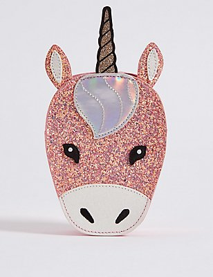 Kids' Unicorn Cross Body Bag, MULTI, catlanding