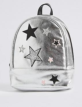 Rucksack mit Emblem für Kinder, MEHRFARBIG, catlanding