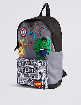 Kids' Avengers™ Rucksack, GREY MIX, catlanding