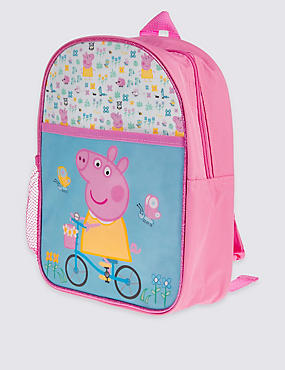 Sac à dos enfant avec motif Peppa Pig™, ROSE ASSORTI, catlanding