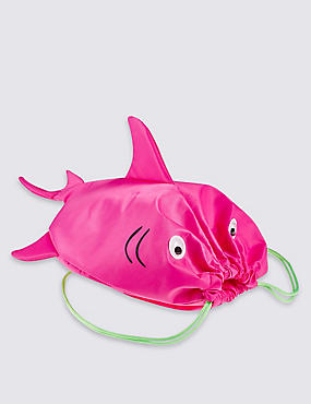 Kids' Novelty Drawstring Bag, PINK MIX, catlanding