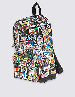 Kids' Star Wars™ Rucksack, BLACK MIX, catlanding