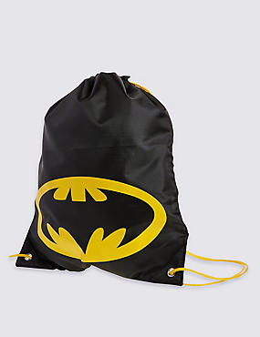 Kids' Batman™ Rucksack Bag, BLACK, catlanding