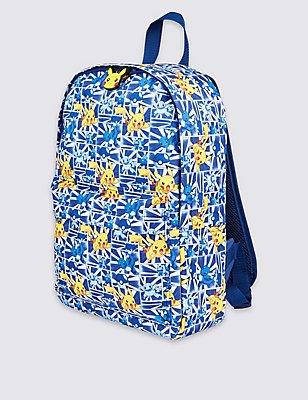 Kids' Pokémon Rucksack Bag, BLACK MIX, catlanding
