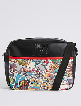 Kids' Marvel Messenger Bag, MULTI, catlanding