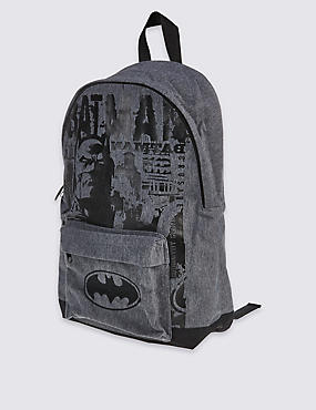 Kids' Batman™ Rucksack Bag, GREY MIX, catlanding