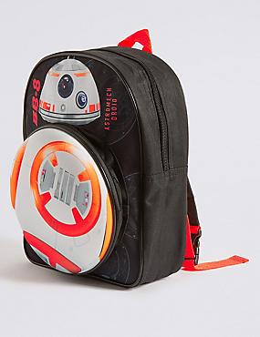 Sac à dos enfant avec motif Star Wars™ et lumières clignotantes, NOIR ASSORTI, catlanding