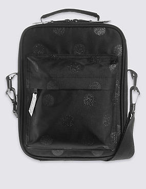 Kids' Back to School Lunch Bag with Thinsulate™, BLACK, catlanding