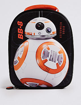 Kids' Star Wars™ Lunch Bag with Thinsulate™, BLACK MIX, catlanding