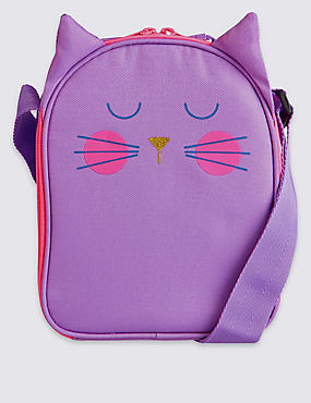 Kids' Cat Lunch Box with Thinsulate™, LILAC, catlanding