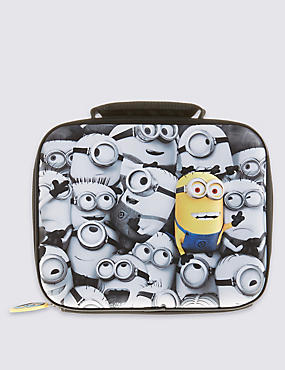 Kids' Despicable Me™ Minions Lunch Box , BLACK/WHITE, catlanding