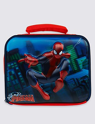 Kids' Spider-Man™ Lunch Bag with Thinsulate™, RED MIX, catlanding