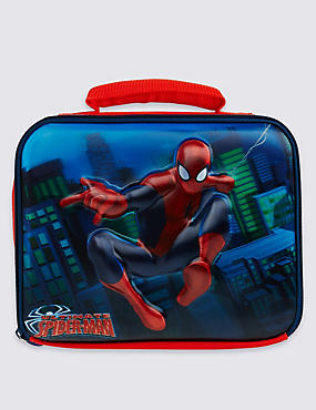 Sac repas enfant à motif Spider-Man™, doté de la technologie Thinsulate™, ROUGE ASSORTI, catlanding