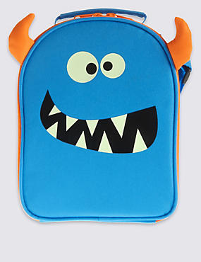 Kids' Lunch box with Thinsulate™, BRIGHT BLUE, catlanding