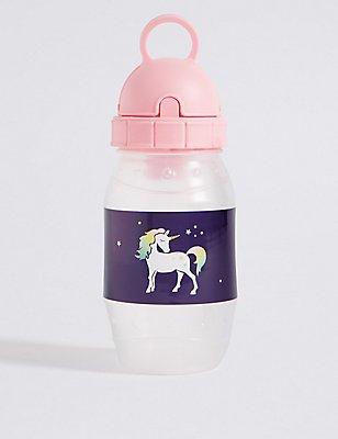 Kids' Unicorn Water Bottle, MULTI, catlanding
