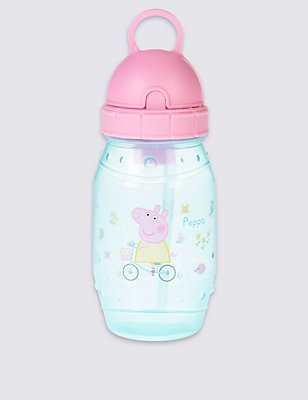 Kids' Peppa Pig™ Water Bottle, PINK MIX, catlanding