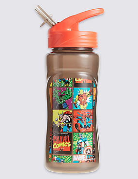 Kids' Avengers™ Water Bottle, BLACK MIX, catlanding