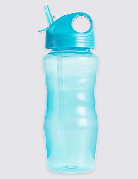 Durchsichtige Trinkflasche für Kinder blau, BLAU, catlanding