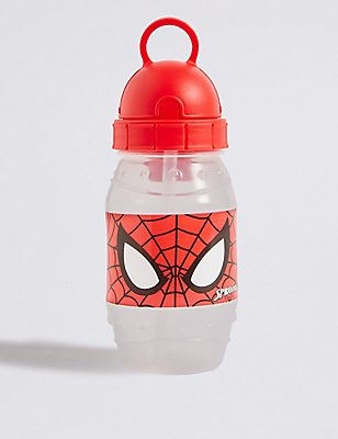 Kids' Spider-Man™ Water Bottle, RED MIX, catlanding
