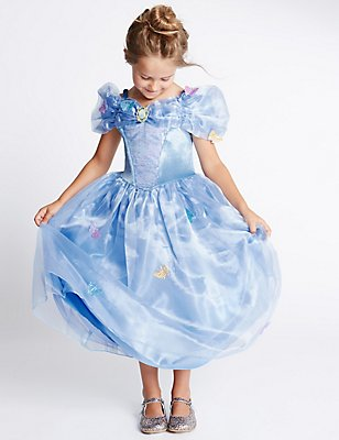 Kids' Disney Princess Cinderella Dress, BLUE MIX, catlanding