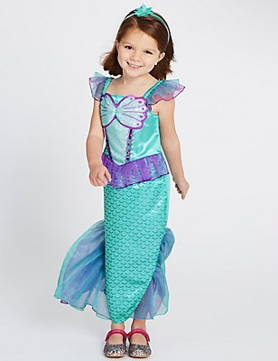 Kids' Mermaid Dress Up Costume , TURQUOISE, catlanding