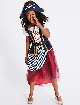 Kids' Pirate Dress Up, RED MIX, catlanding