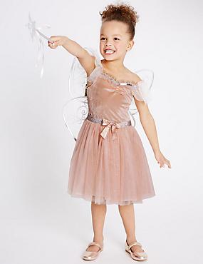 Kids' Fairy Dress Up, PINK, catlanding