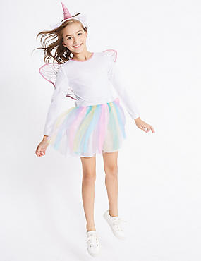 Kids' Unicorn Dress Up, WHITE MIX, catlanding