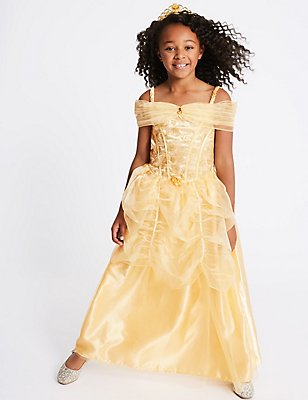 Kids' Disney Princess™ Belle Dress Up, GOLD MIX, catlanding