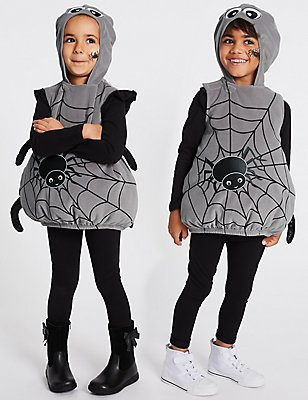 Kids' Spider Dress Up, GREY MIX, catlanding