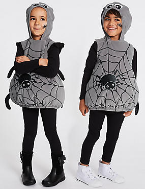 Kids' Spider Dress Up, GREY MIX, catlanding