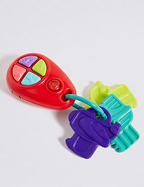 My First Electronic Teether Keys, , catlanding