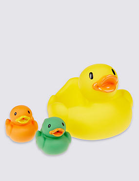Duck Family Bath Squirter, , catlanding