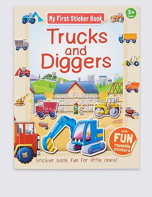 My First Learning Trucks & Diggers Activity Book, , catlanding