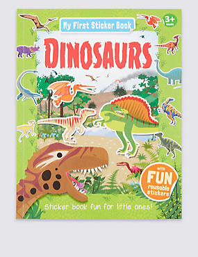 My First Learning Dinosaurs Activity Book, , catlanding
