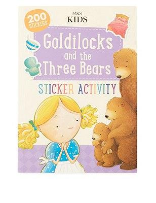 First Readers Goldilocks And The Three Bears Sticker Activity Book, , catlanding