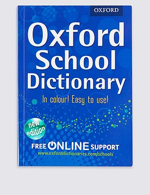 Oxford School Dictionary Book, , catlanding