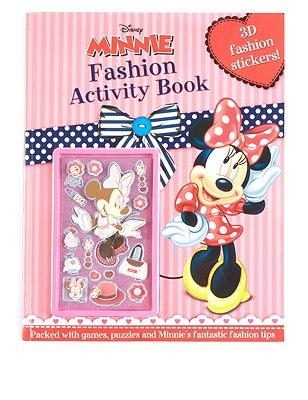 Disney Minnie Mouse Sticker Activity Book, , catlanding