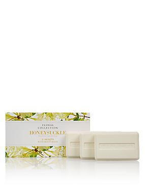 Honeysuckle Trio of Soaps, , catlanding